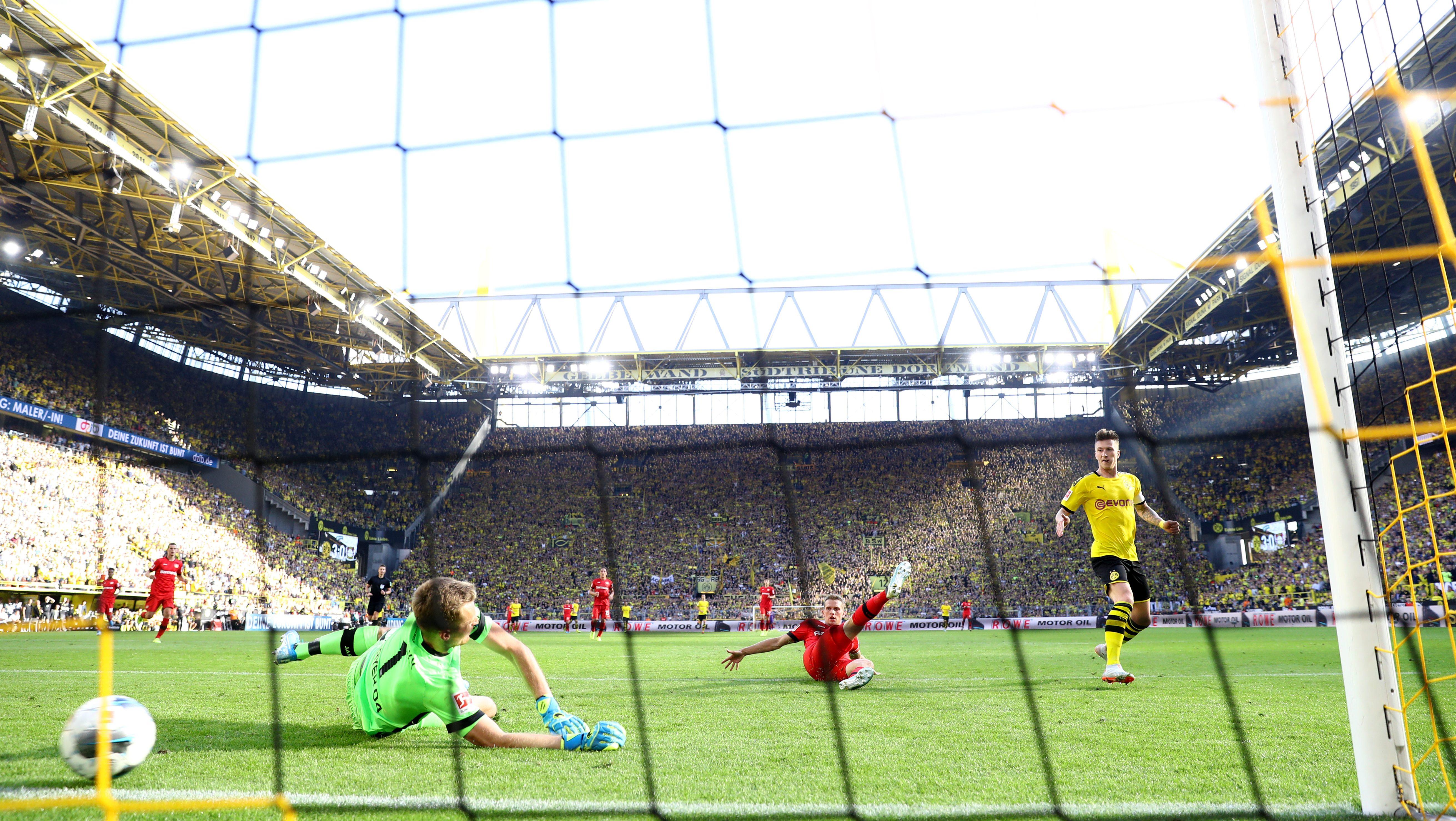 4:0 - BVB eine Hausnummer zu hoch für Leverkusen