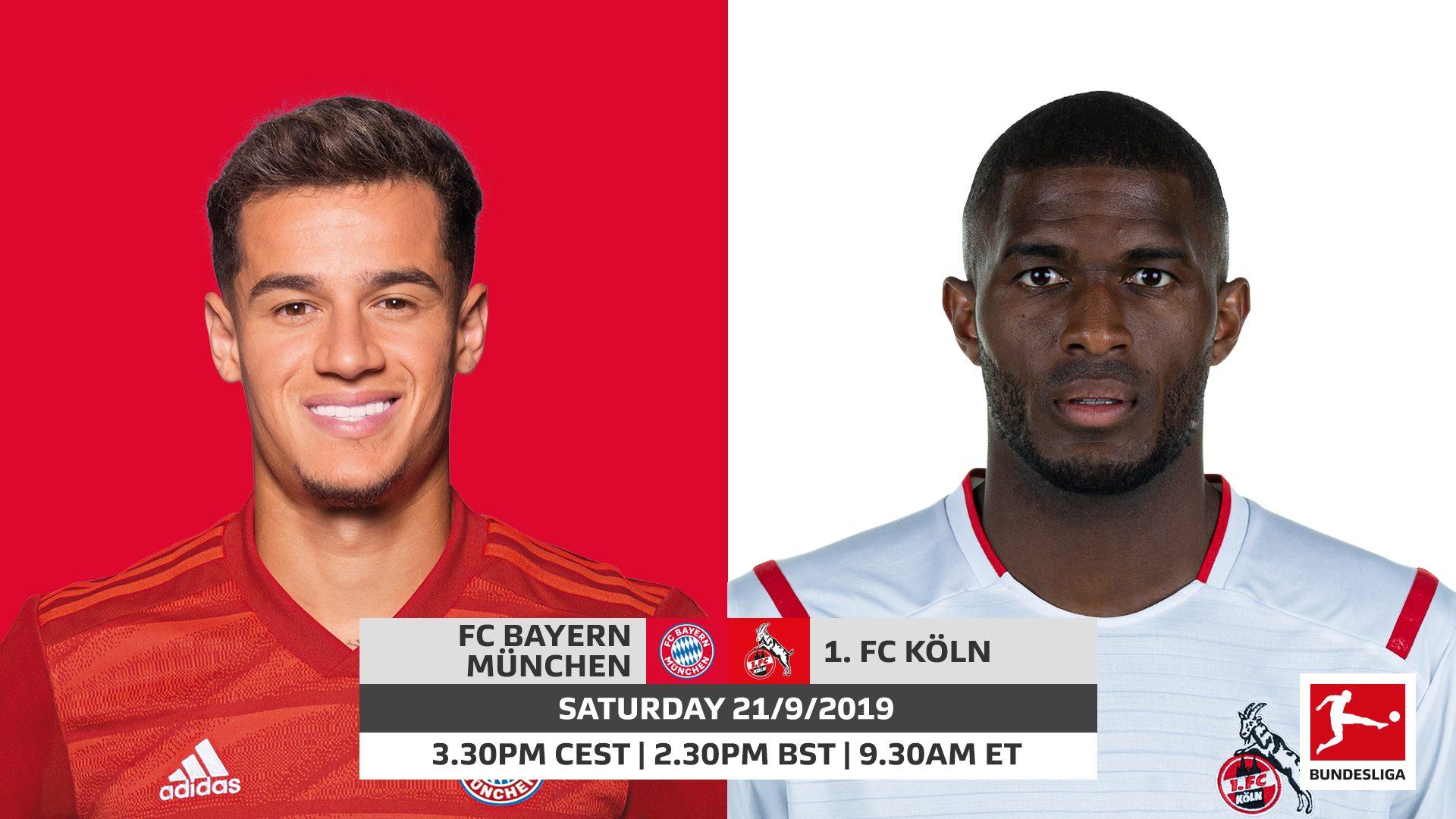 Soi kèo Bayern Munich vs Koln