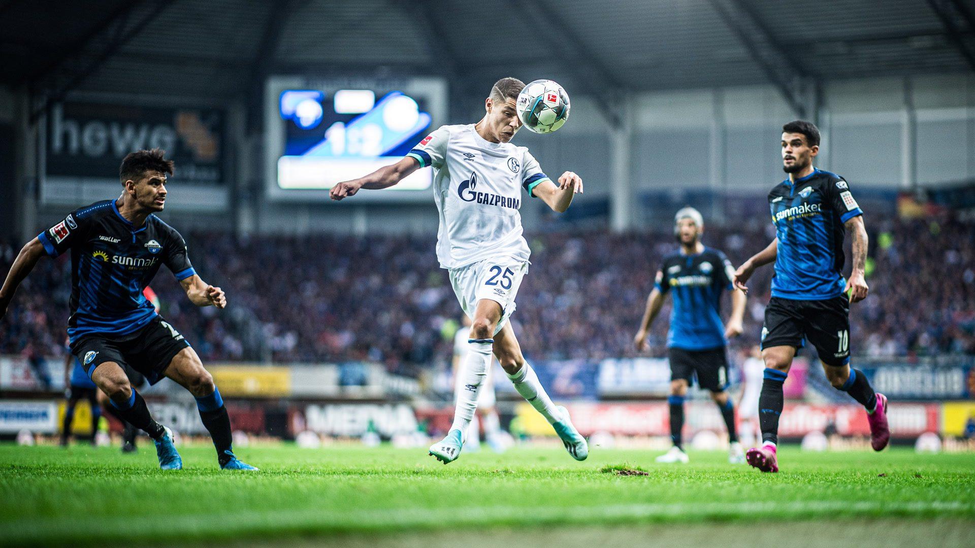Schalke kommt in Paderborn ins Rollen