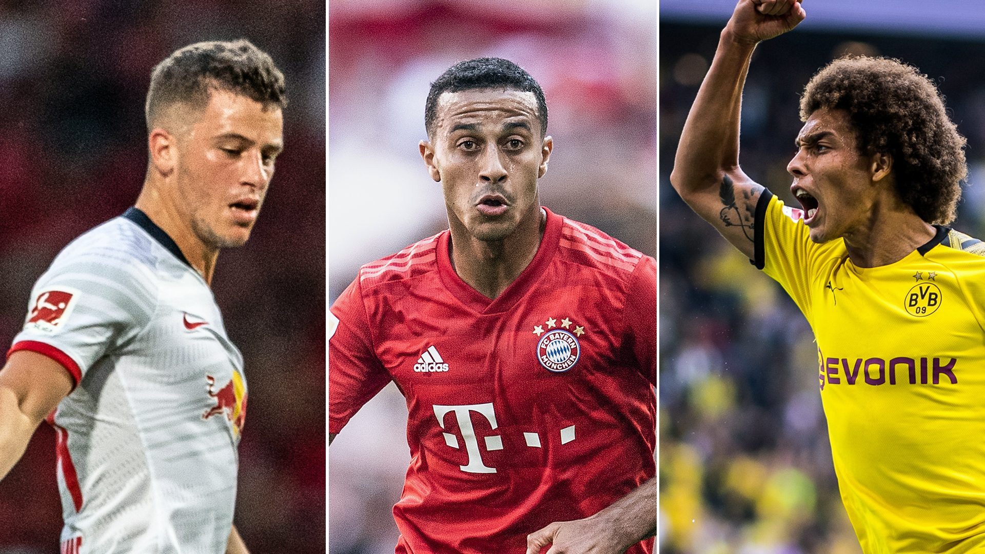 Bundesliga   Bundesliga's best No.6: Thiago vs. Diego Demme vs ...
