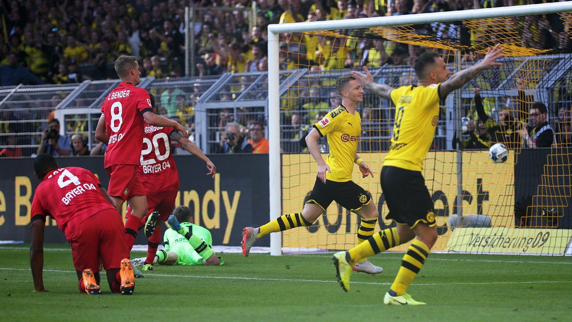 Borussia Dortmund glänzt gegen Bayer Leverkusen