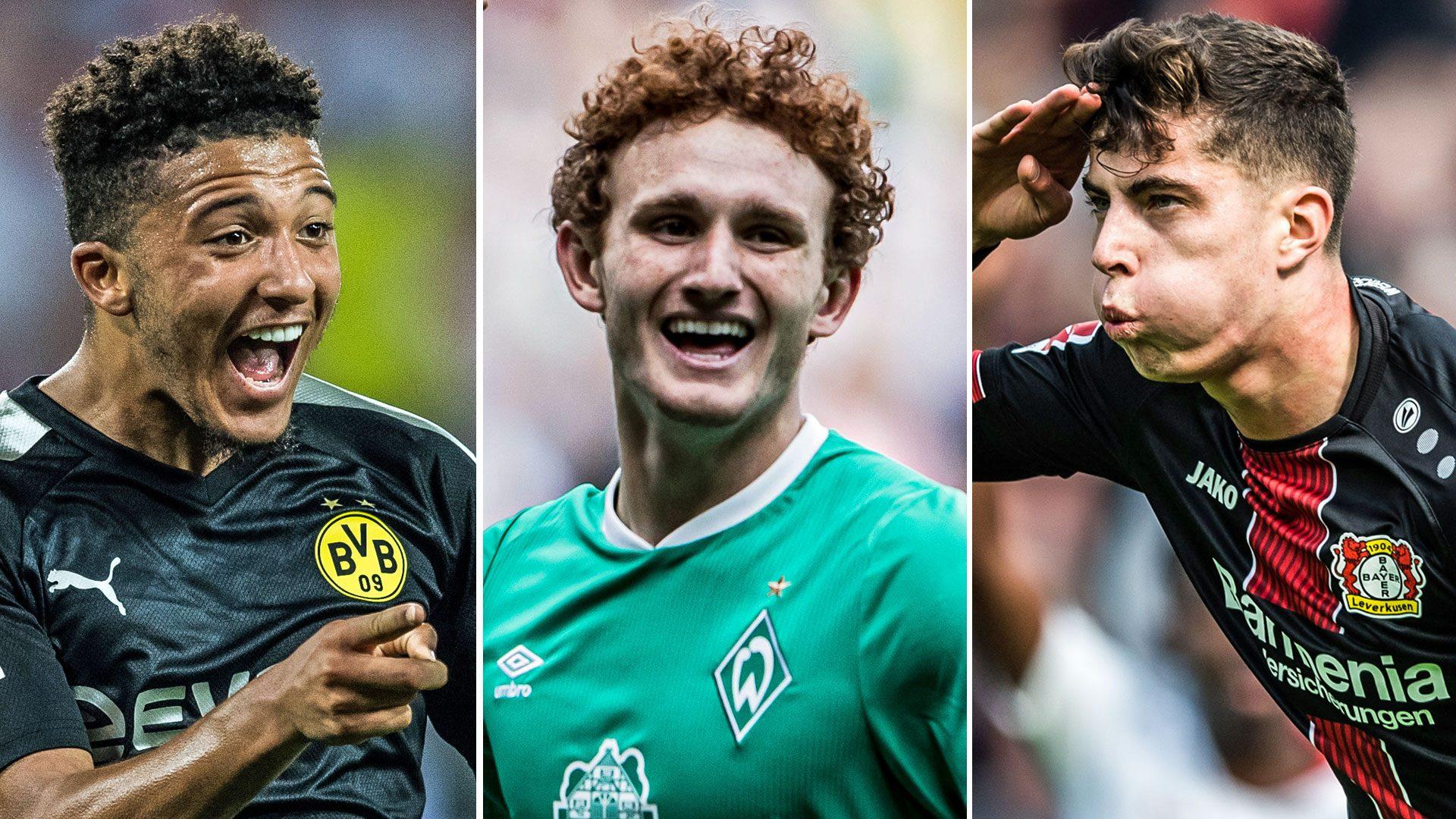 Bundesliga | FIFA 20 potential ratings: Jadon Sancho, Kai Havertz and the  Bundesliga's best Career Mode buys