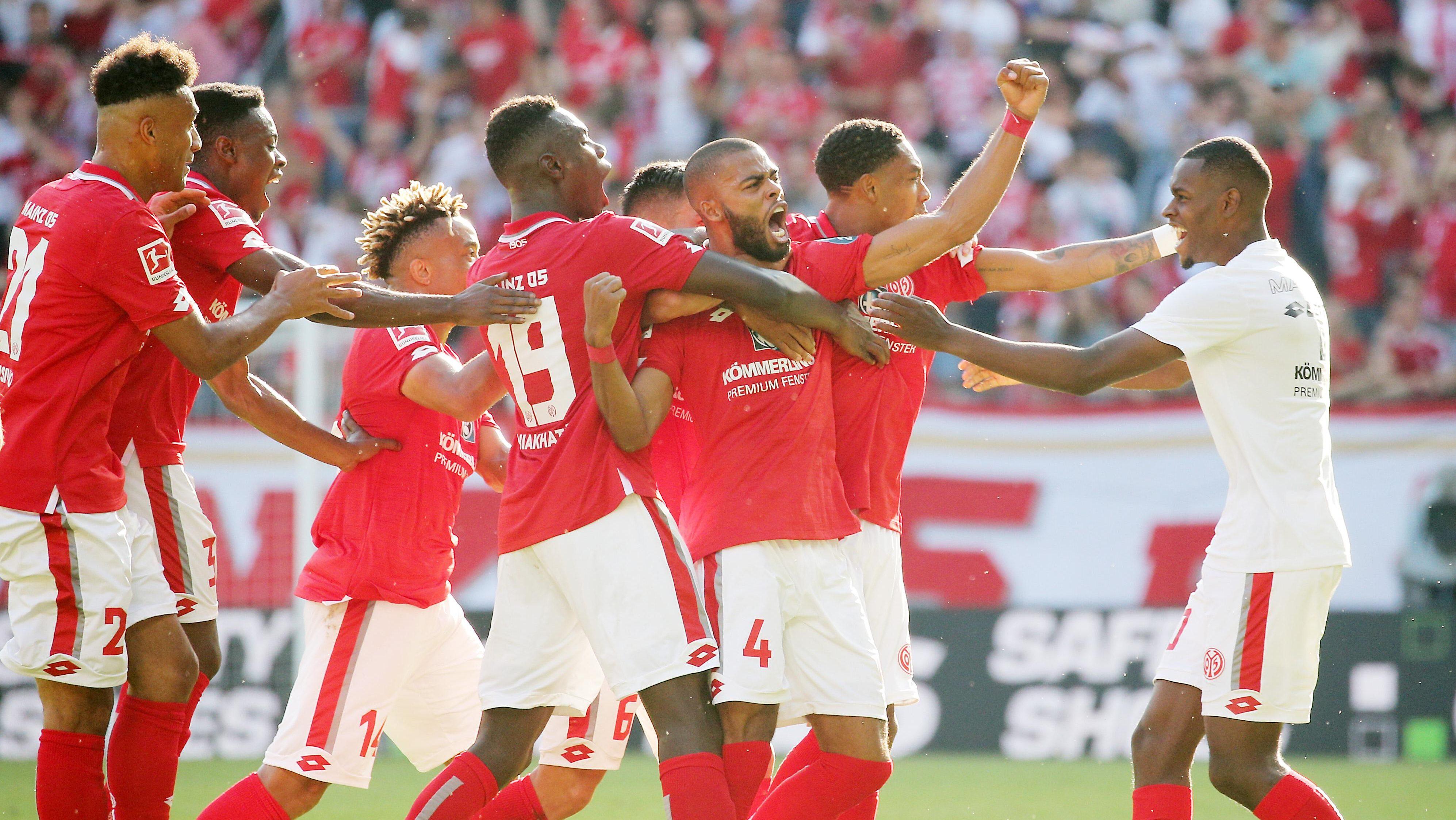 1. FSV Mainz 05 ringt Hertha BSC nieder