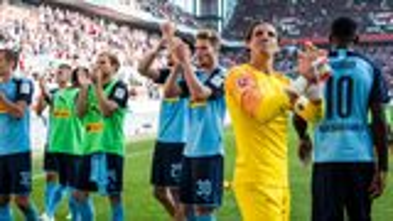 """Gladbach feiert Derbysieg: """"Hat richtig Spaß gemacht"""""""