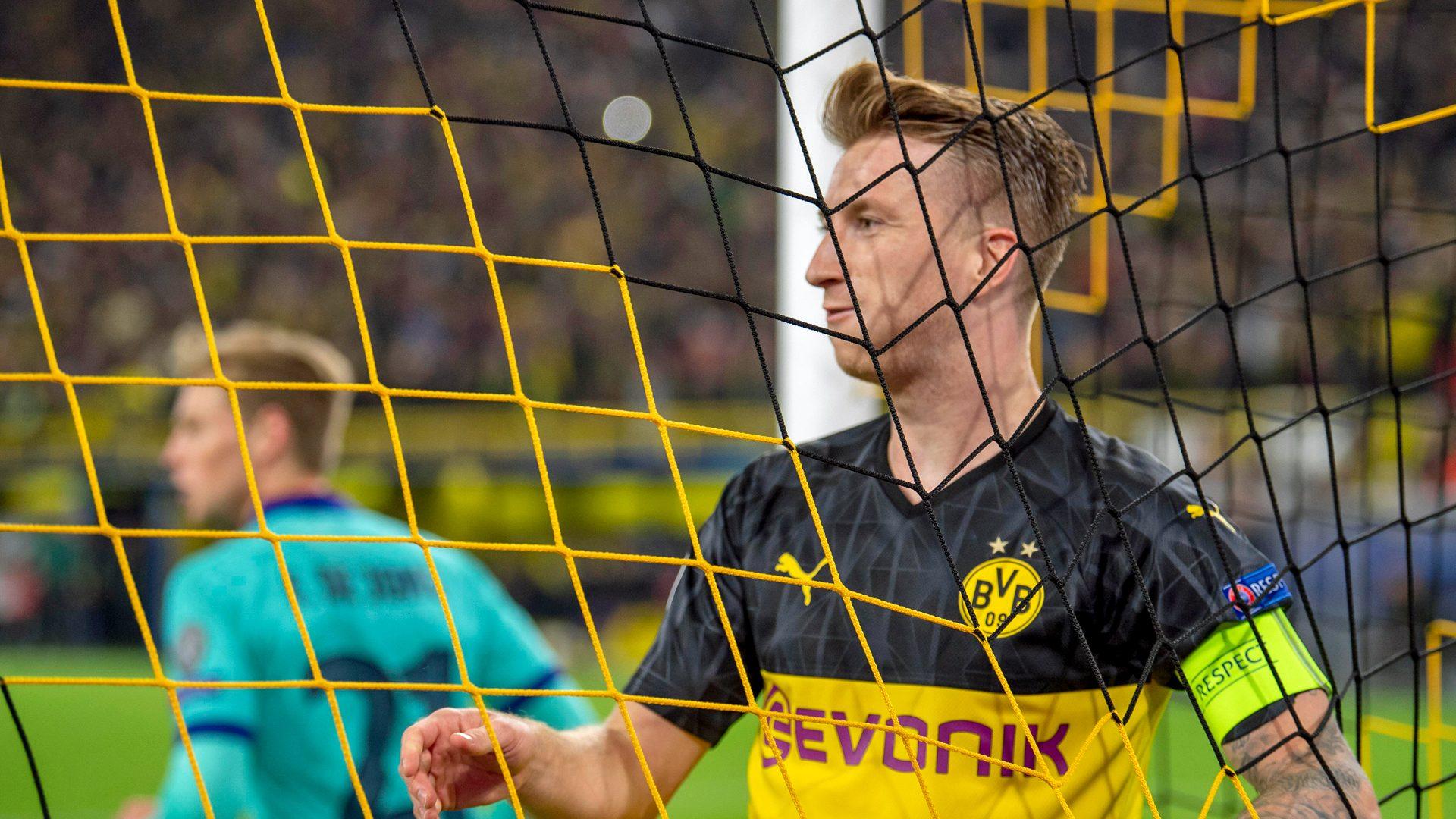 Dominant Dortmund frustrated by Barcelona