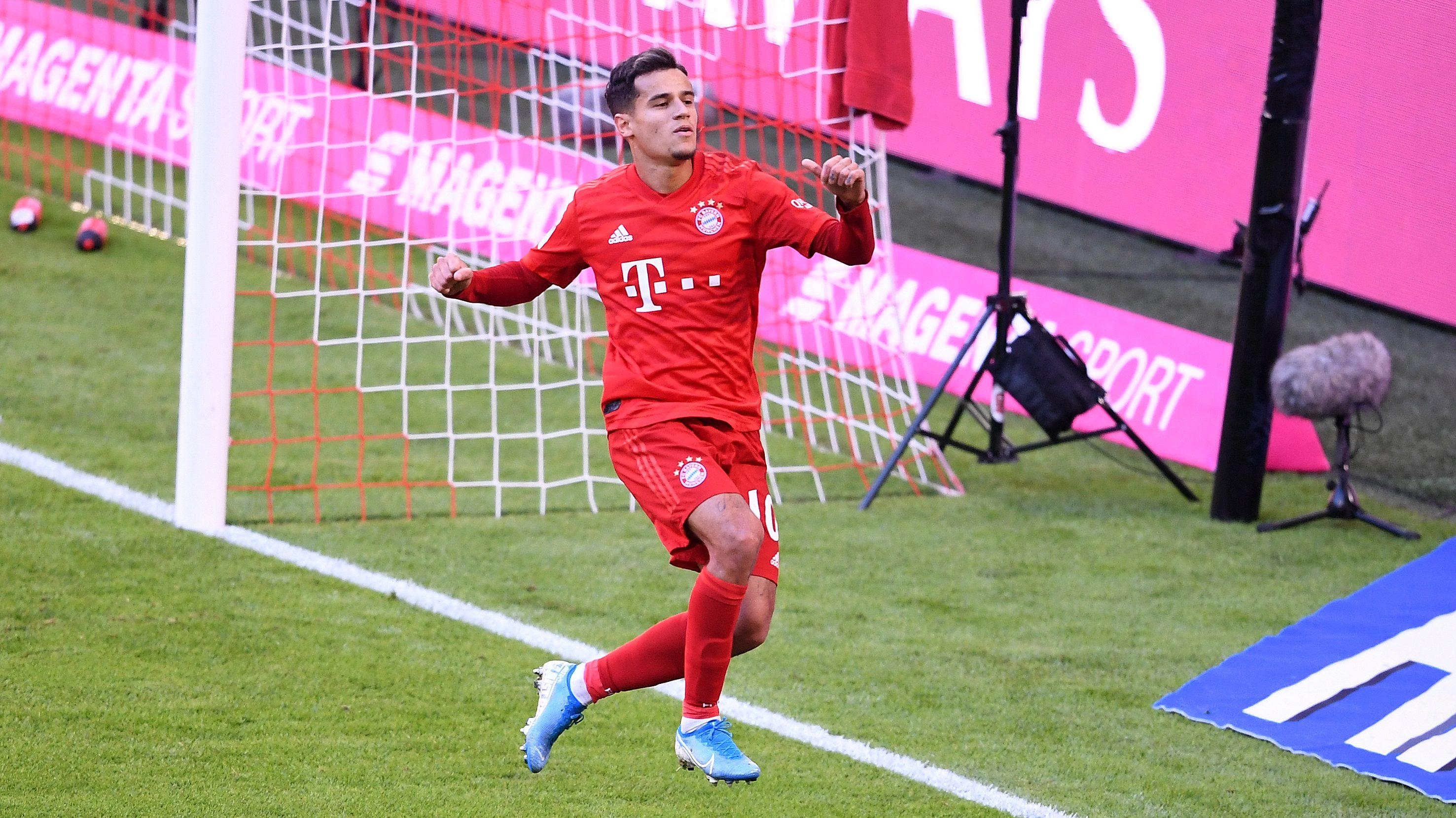 Vea: El primer gol de Coutinho en la Bundesliga