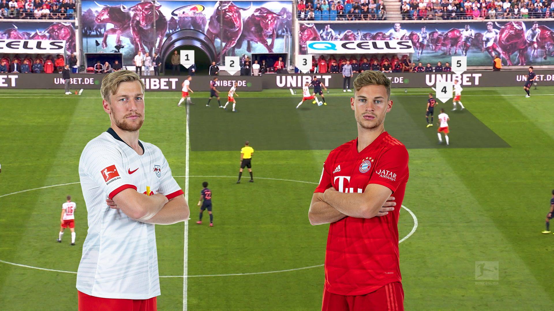 Leipzig gegen den FC Bayern in der Taktik-Analyse