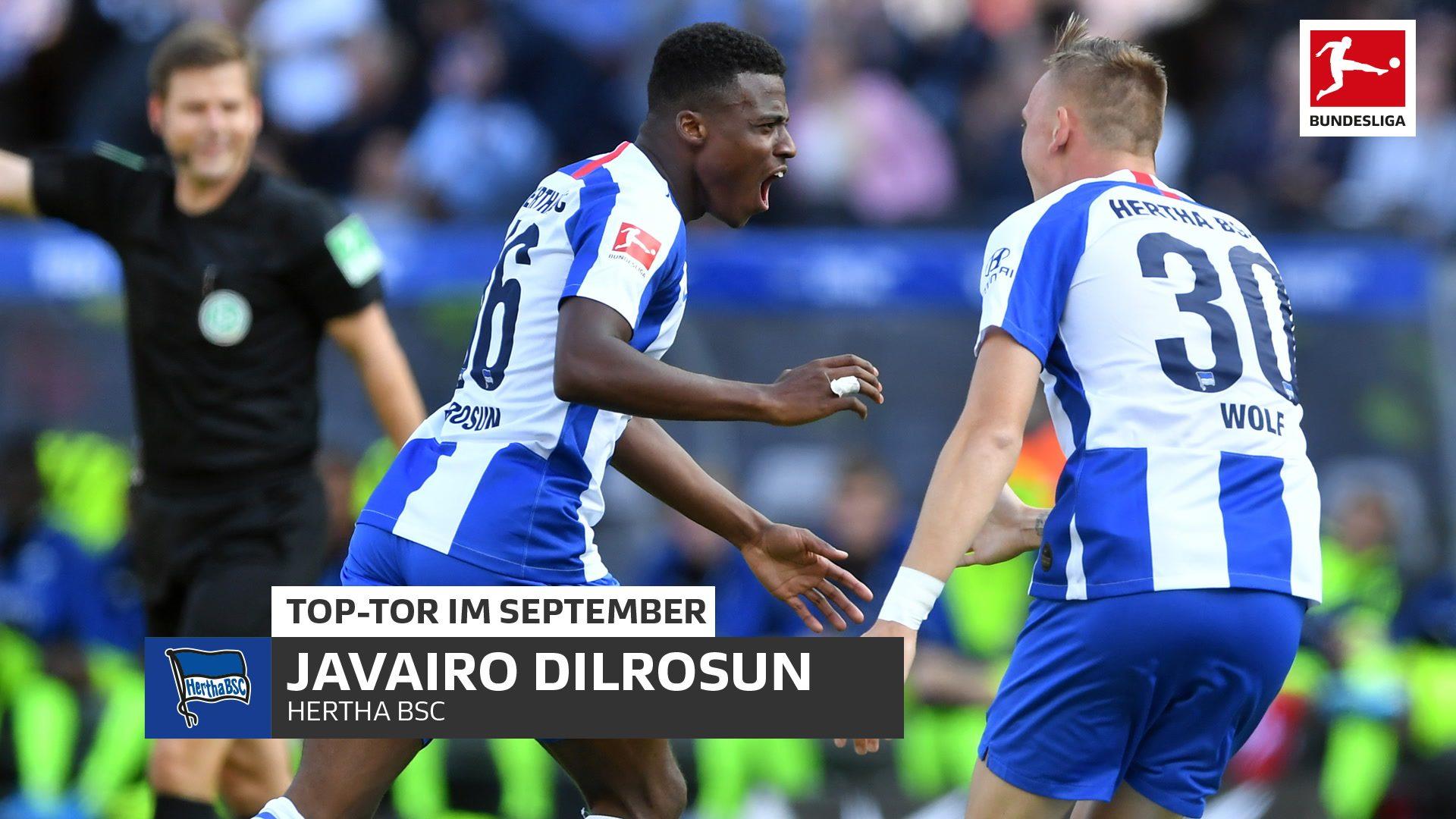 Javairo Dilrosun erzielt das Top-Tor im September