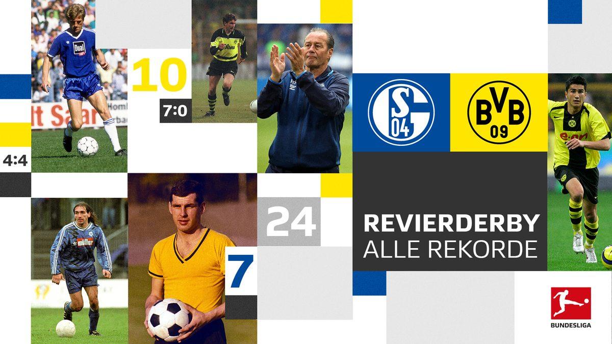 BVB gegen Schalke: Die Rekorde des Revierderbys