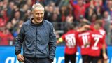 Streich's Freiburg fight back to hold Dortmund