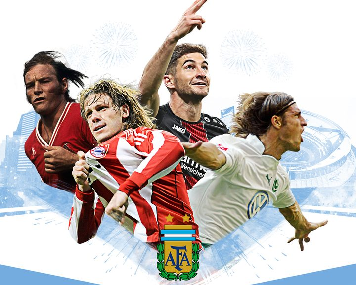 Ricardo-Horacia Neumann, Martin Demichelis, Lucas Alario and Diego Klimowicz are three of the Bundesliga's better-known Argentinians past and present.