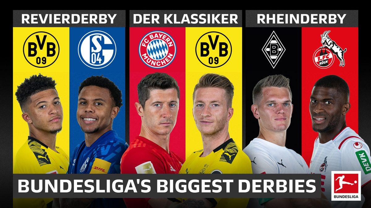 Bundesliga The Biggest Soccer Derbies In The Bundesliga Klassiker Revierderby And More