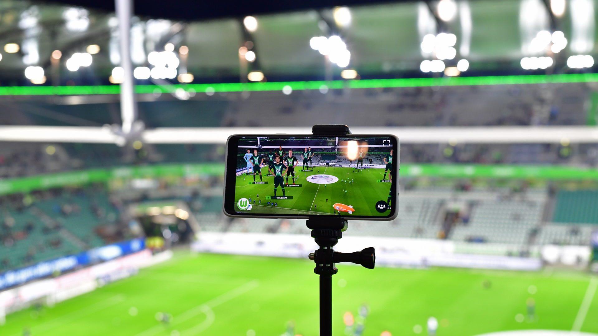 Wolfsburg: Erstes Stadion mit 5G-Technologie