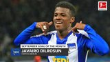 Javairo Dilrosun wins September Goal of the Month!