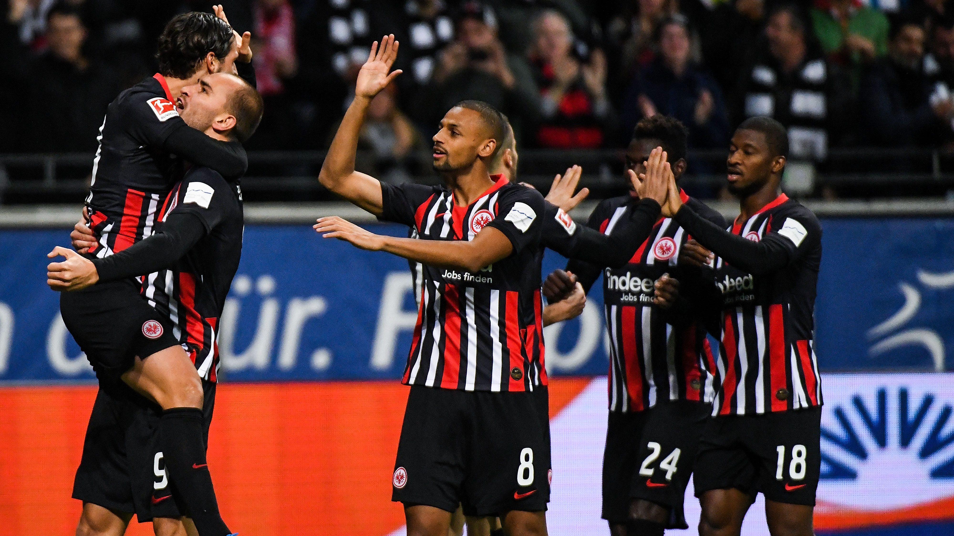Frankfurt gewinnt Schlagabtausch gegen Leverkusen