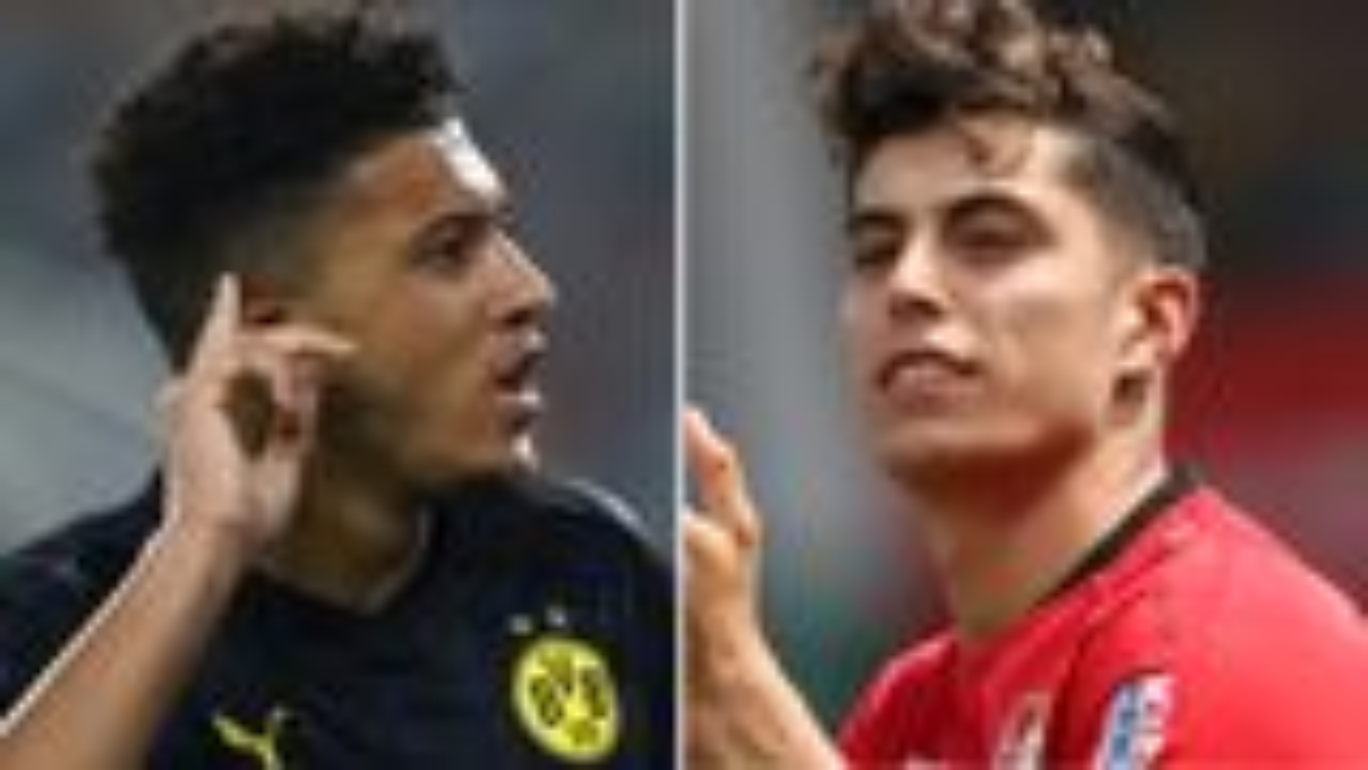 Havertz y Sancho, estrellas del futuro en la Bundesliga