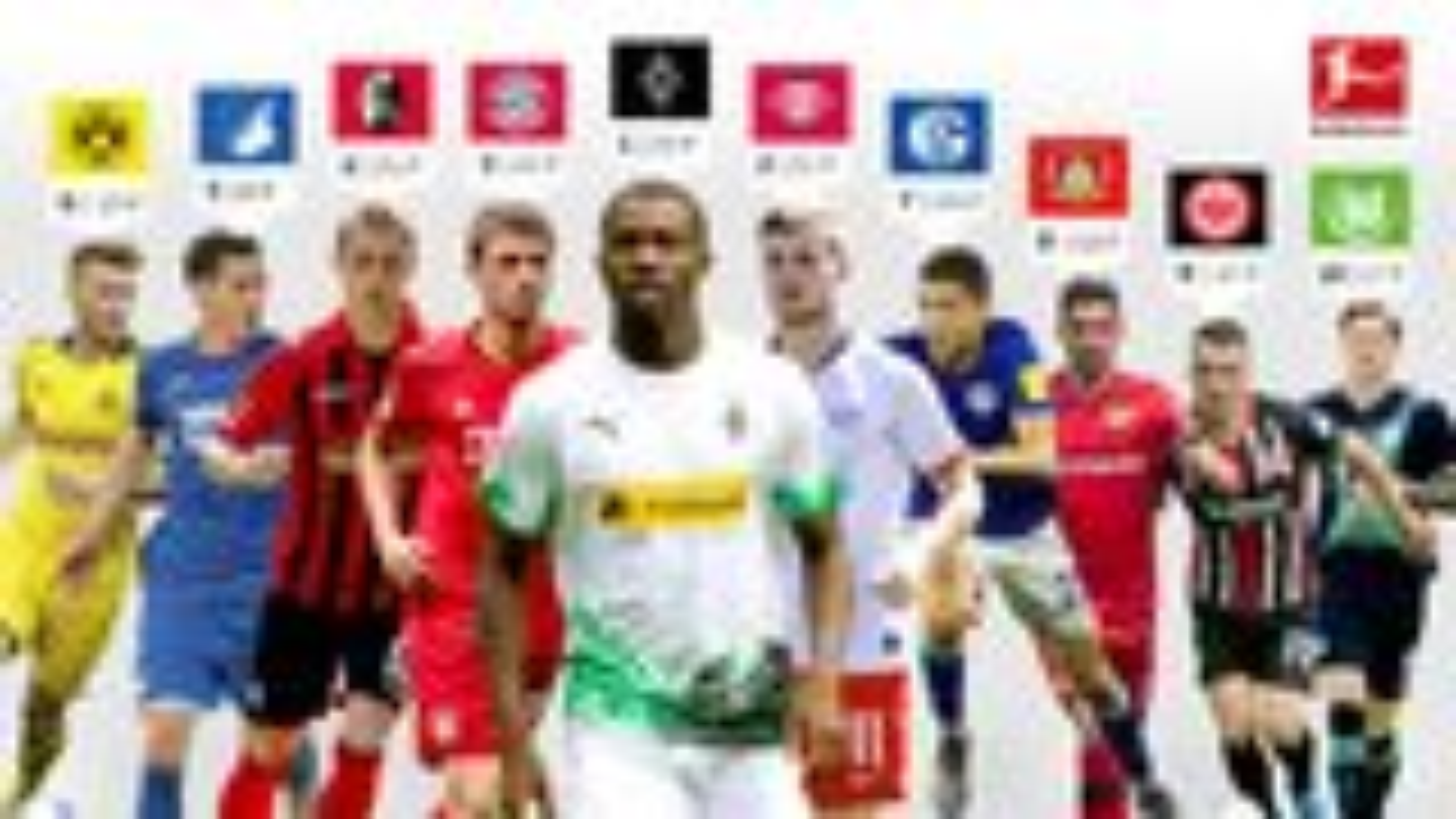 Gedränge im Verfolgerfeld: Neun Clubs jagen Gladbach