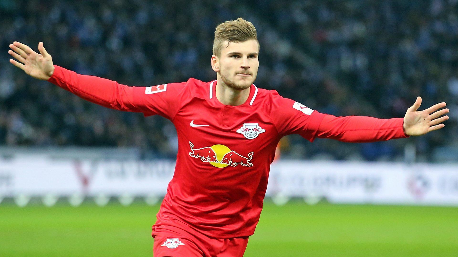 Werner double as Leipzig down Hertha