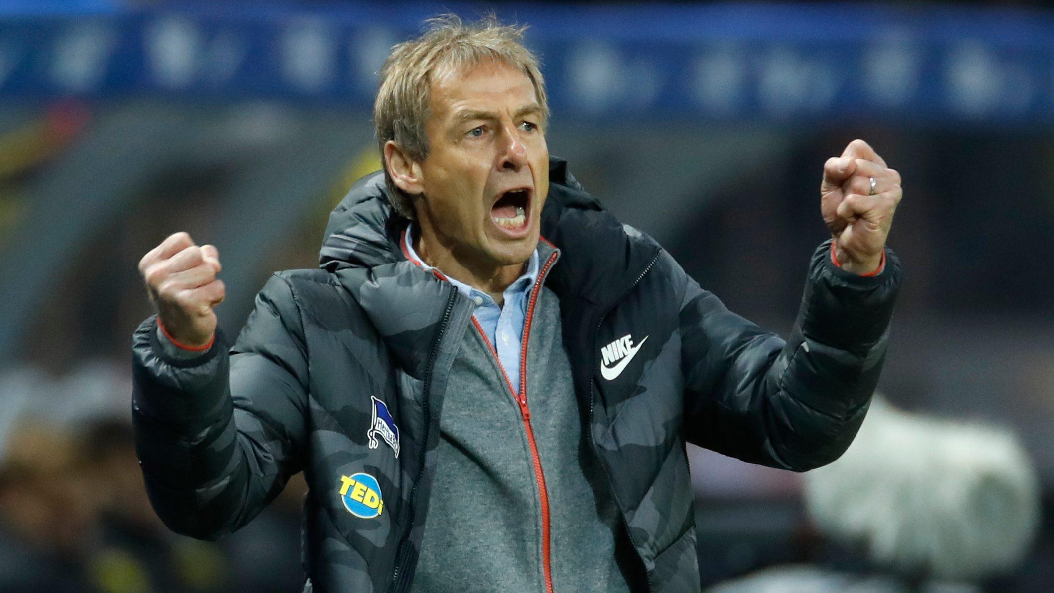 Hertha-Spieler von Klinsmann begeistert