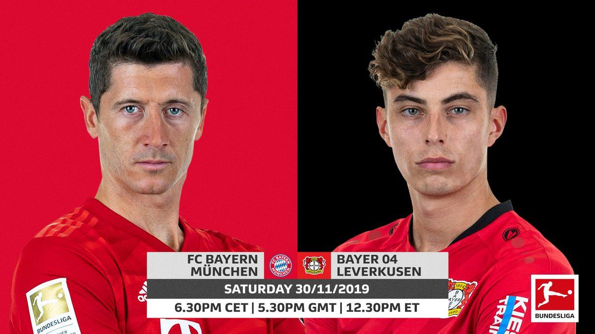 نتيجة بحث الصور عن Bayern MunichvsBayer Leverkusen
