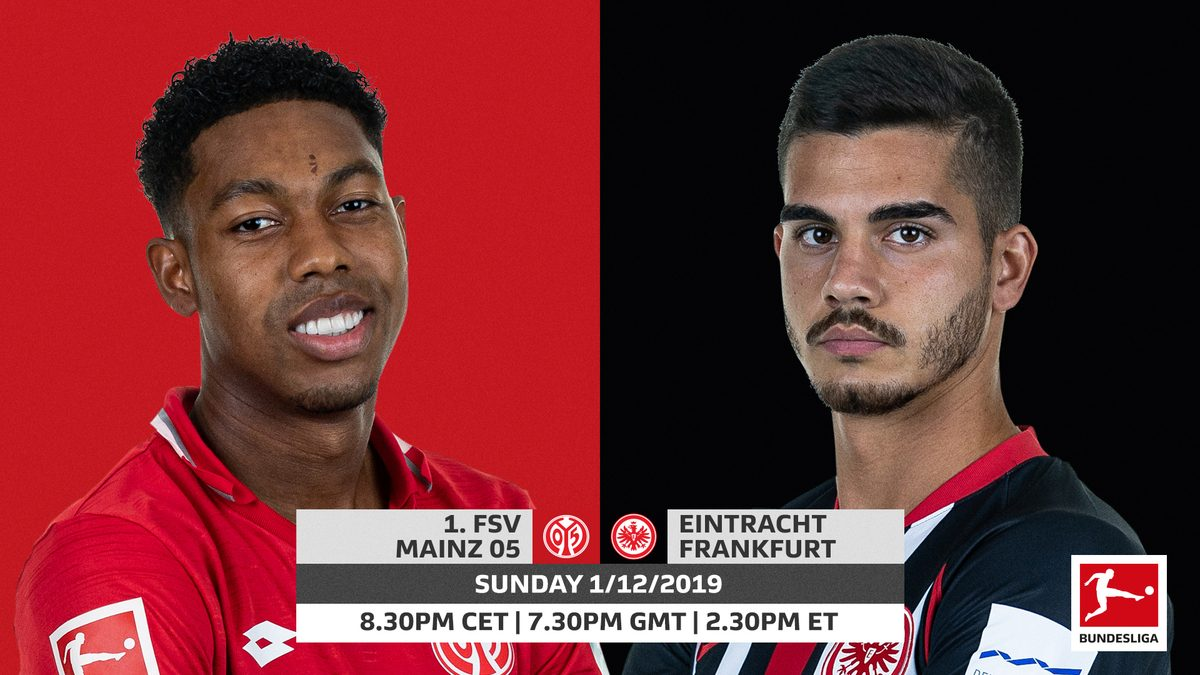Xem lại Mainz 05 vs Frankfurt, Bundesliga 3/12/2019