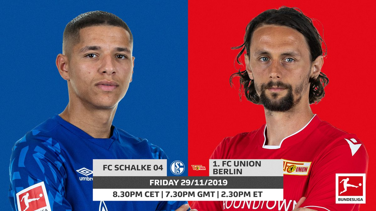 Xem lại Schalke 04 vs Union Berlin, Bundesliga 30/11/2019