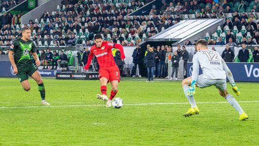 Leverkusen gewinnt in Wolfsburg und schaut nach oben - Bundesliga.de