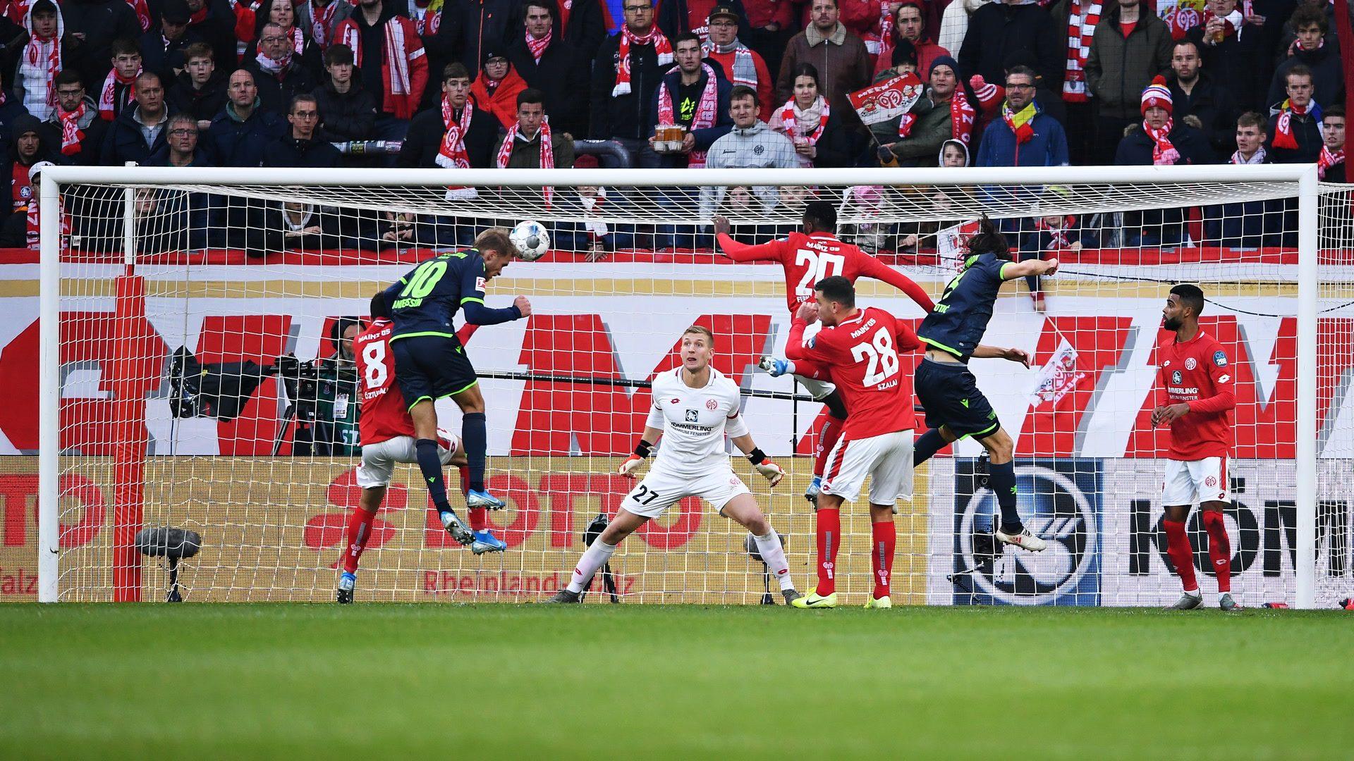 Union Berlin erspielt sich drei Punkte bei Mainz 05