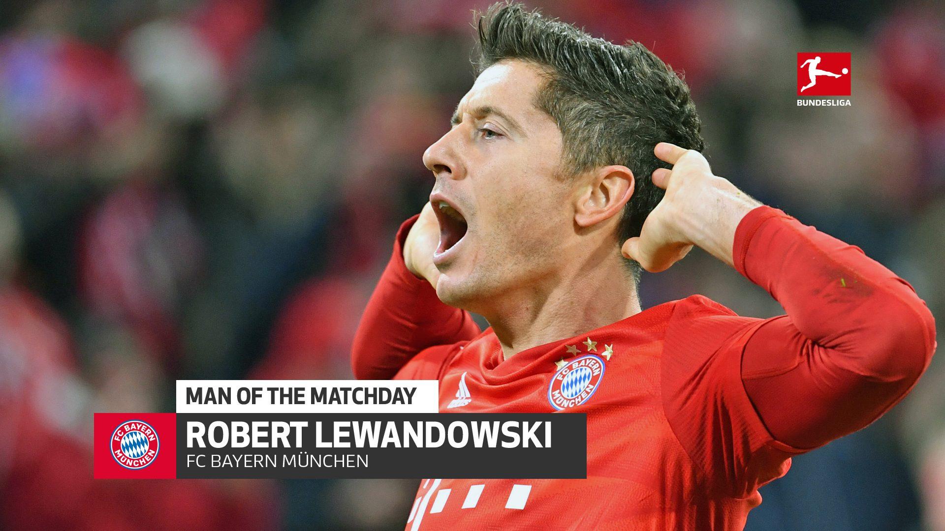 Lewandowski: MD11's Man of the Matchday