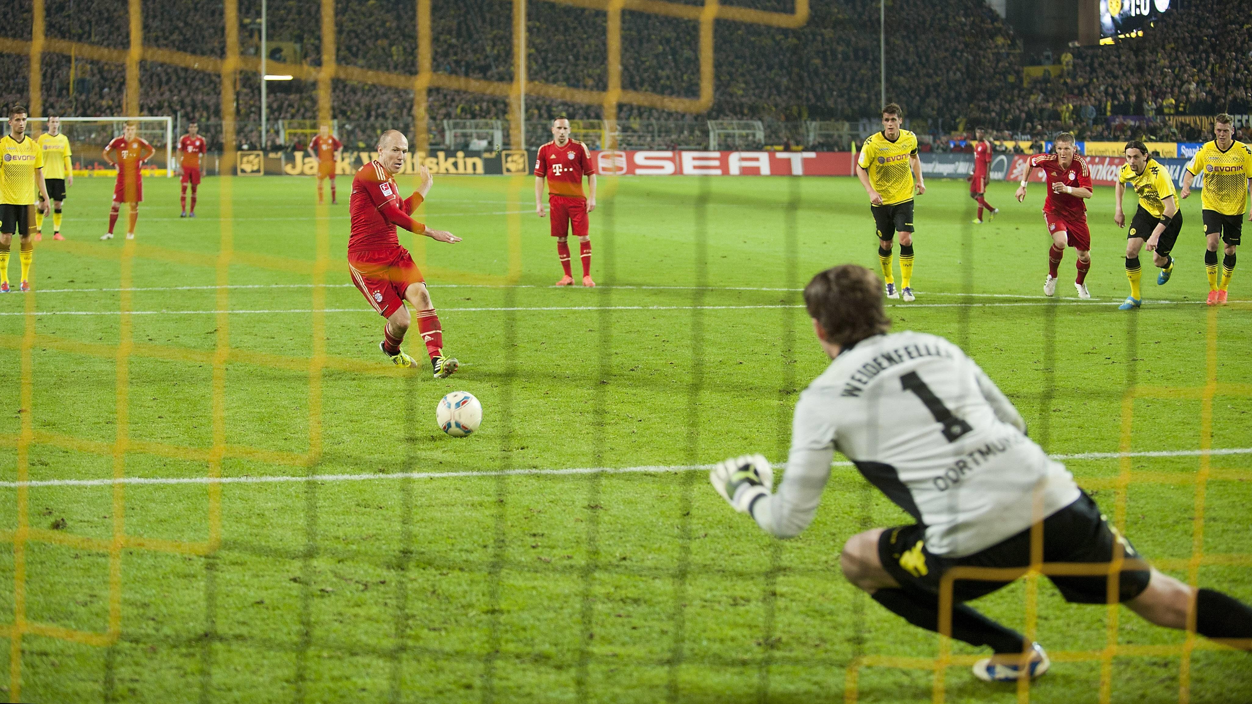 Die größten Duelle zwischen Bayern und Dortmund