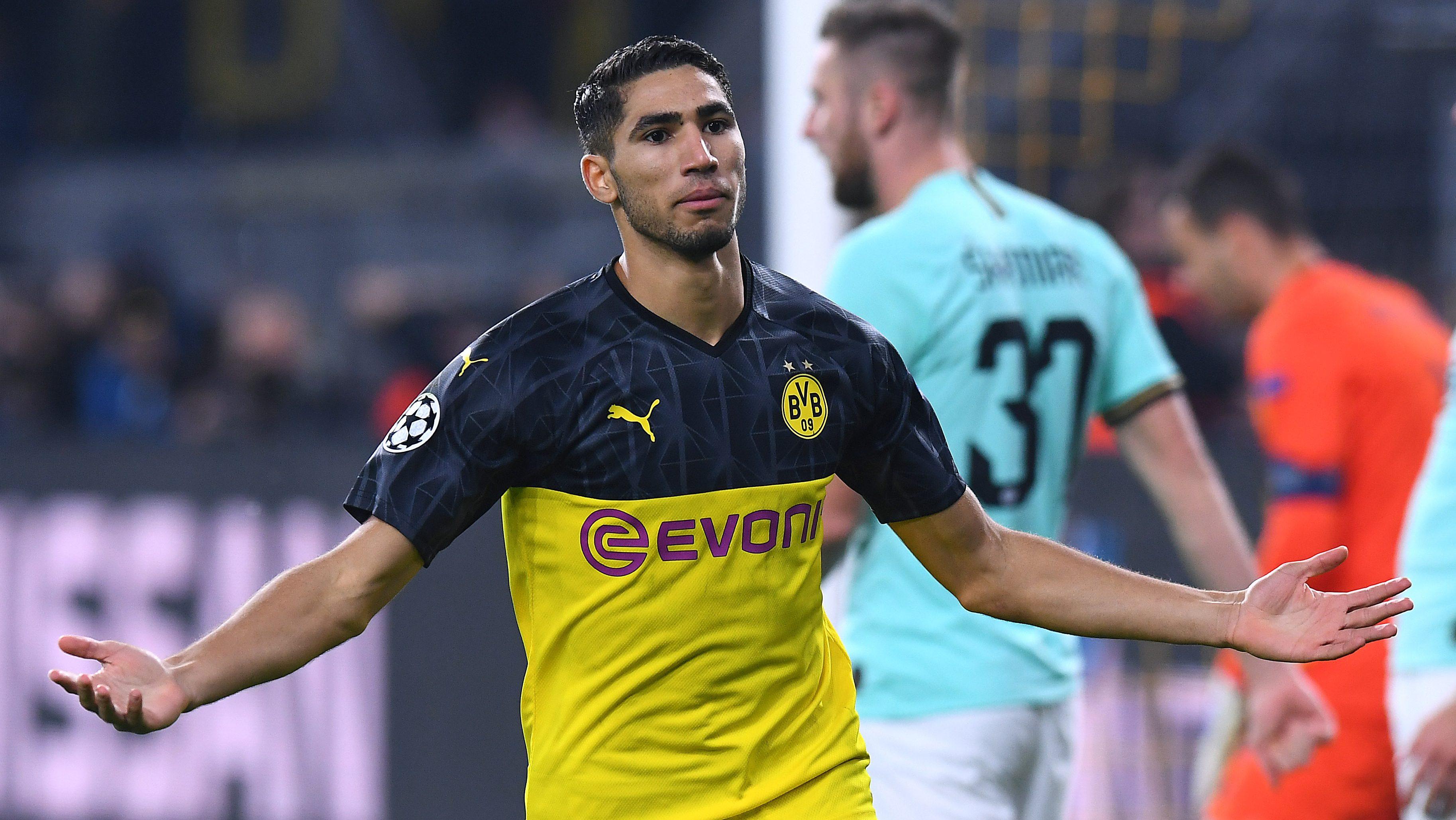 Bundesliga | Así juega: Achraf Hakimi