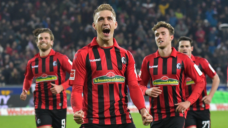 Petersen strikes as Freiburg edge Frankfurt