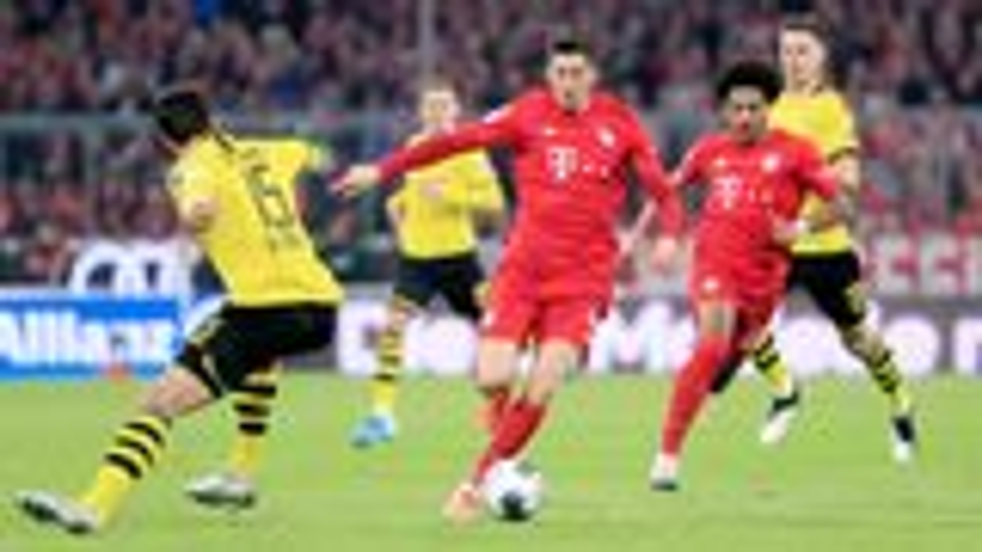 Klare Sache im Klassiker: Bayern bezwingt Dortmund