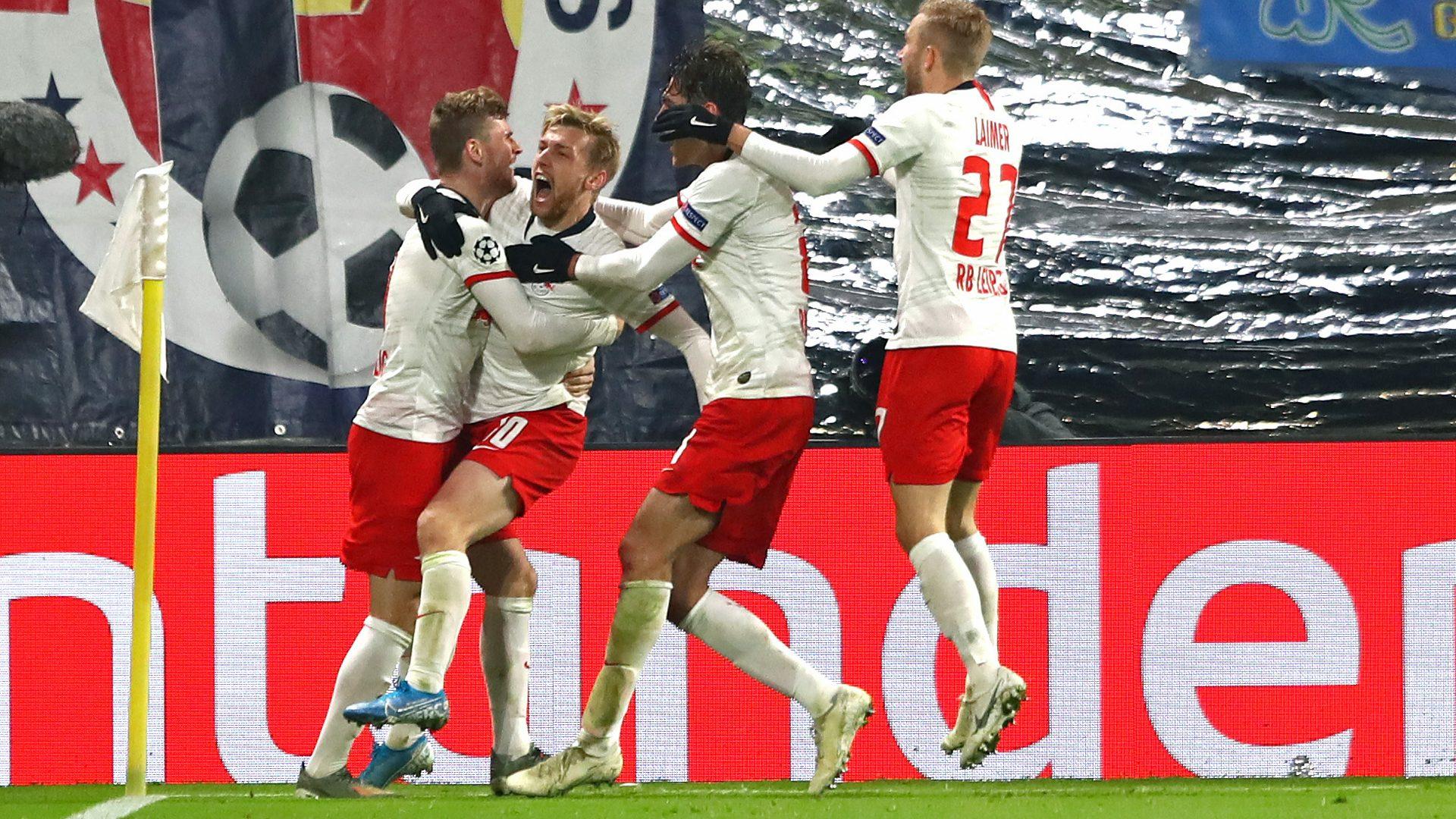 Bundesliga | Emil Forsberg double sends RB Leipzig into the UEFA ...