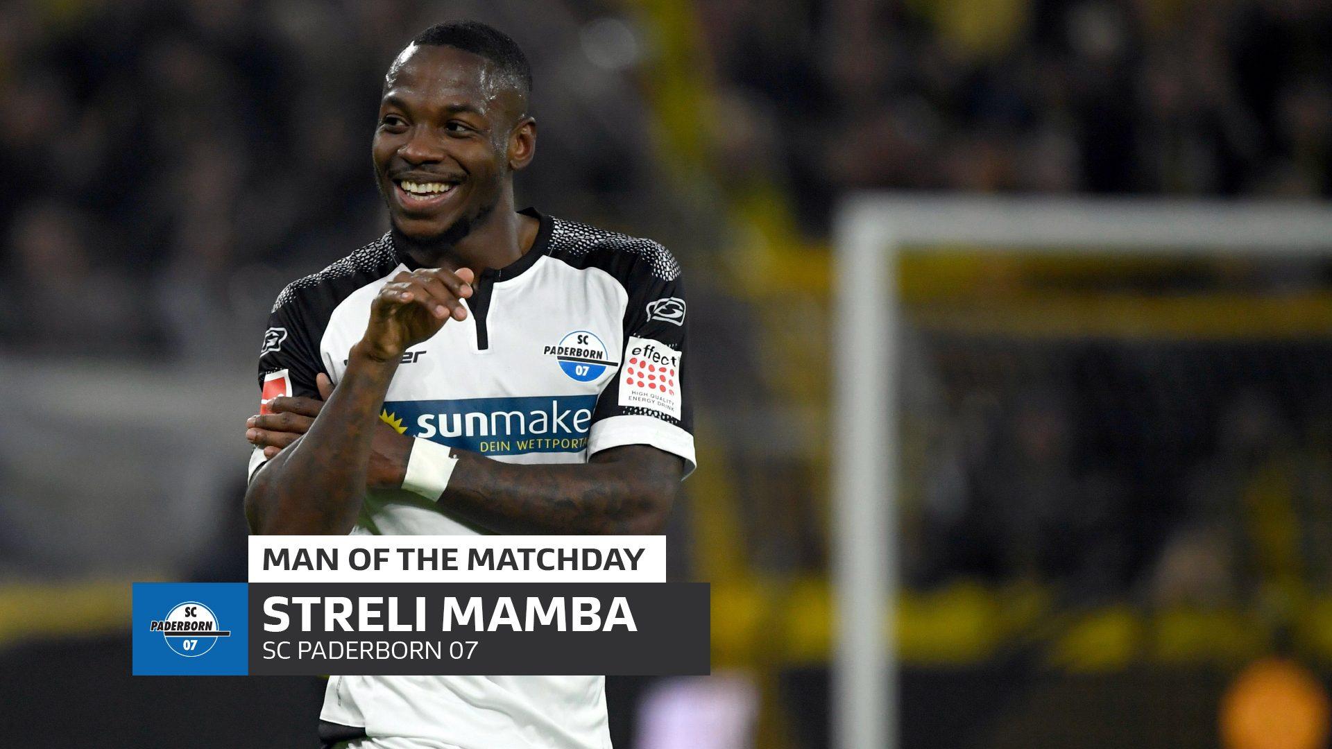 Bundesliga Streli Mamba Who Is Paderborn S Venomous