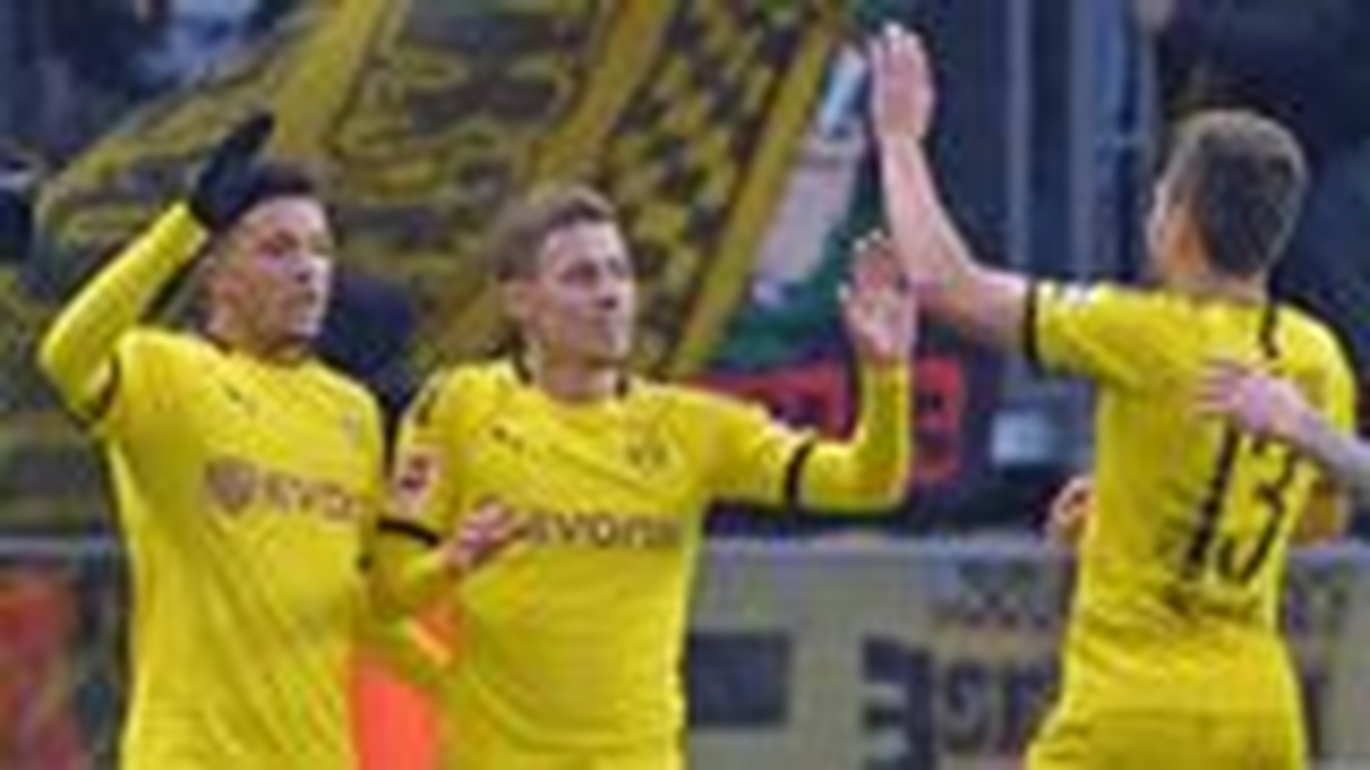 Dortmund hold on against Klinsmann's Hertha
