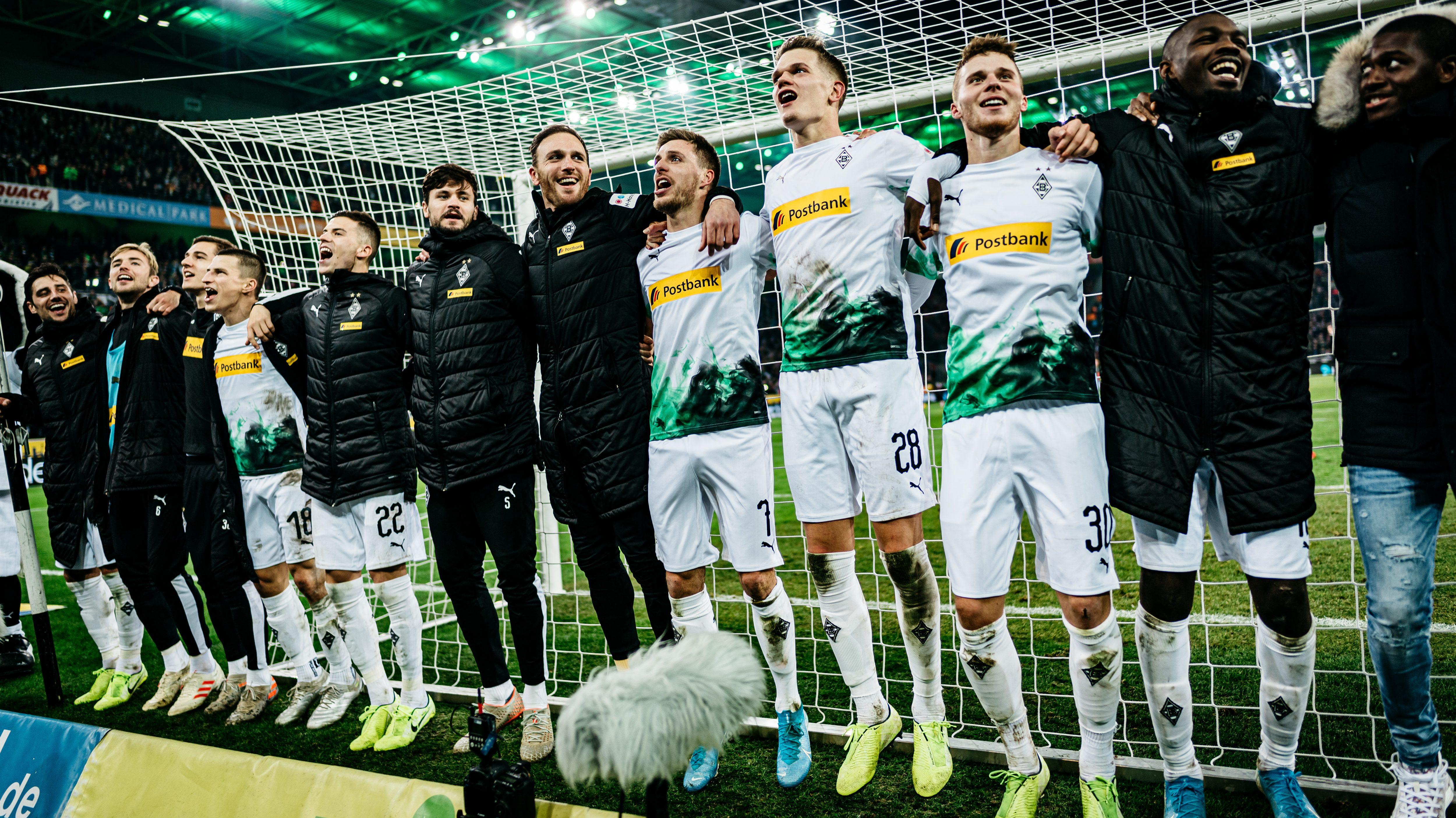 Mönchengladbach hat die Herbstmeisterschaft vor Augen