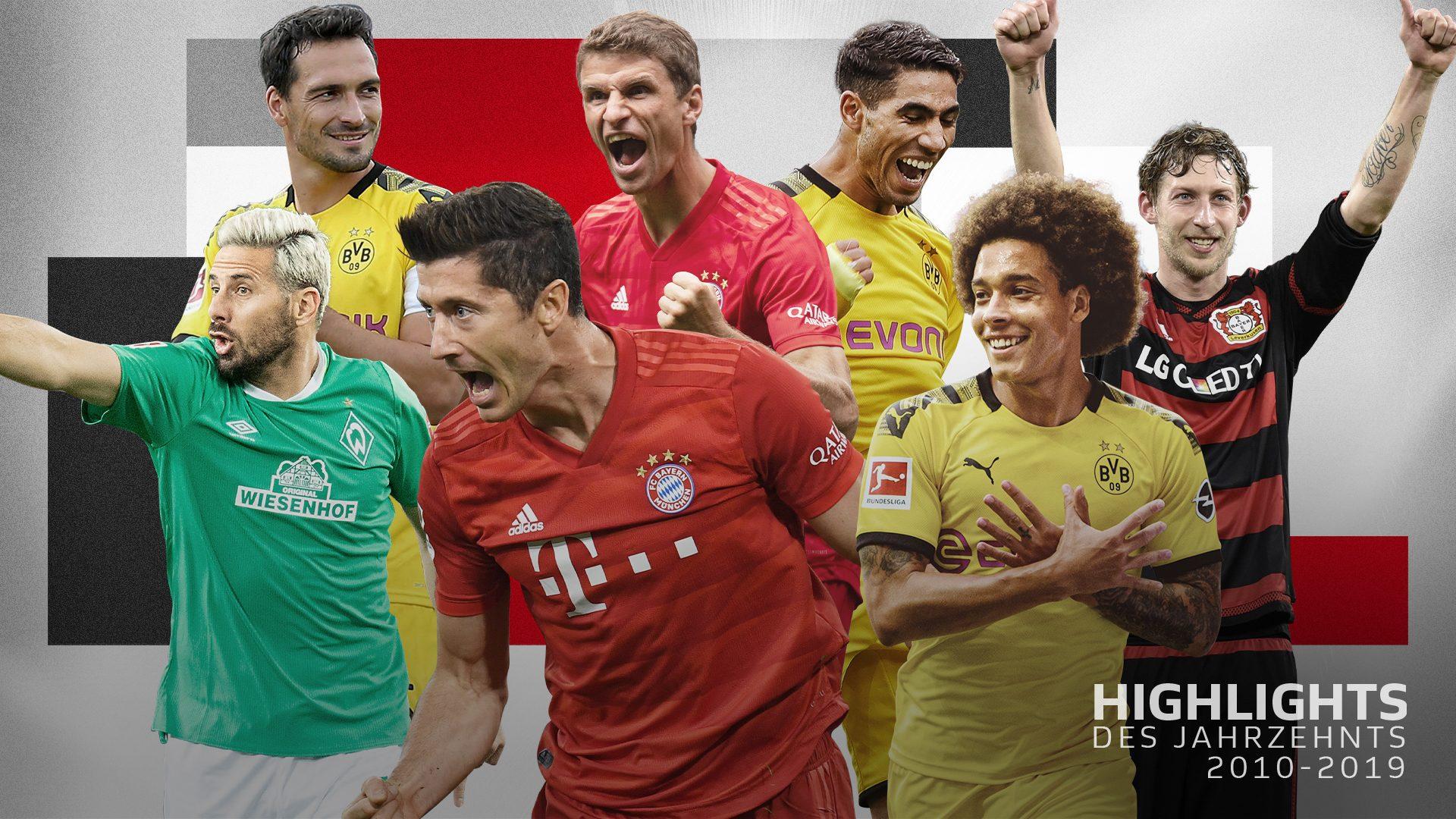 Bundesliga Highlights Des Jahrzehnts Die Top Spieler