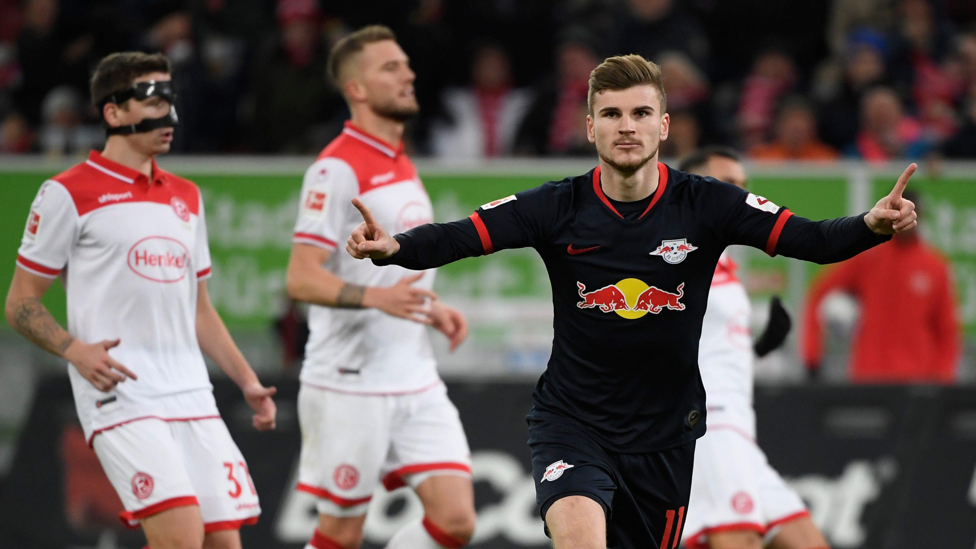 Sieg in Düsseldorf: Leipzig setzt sich an die Spitze
