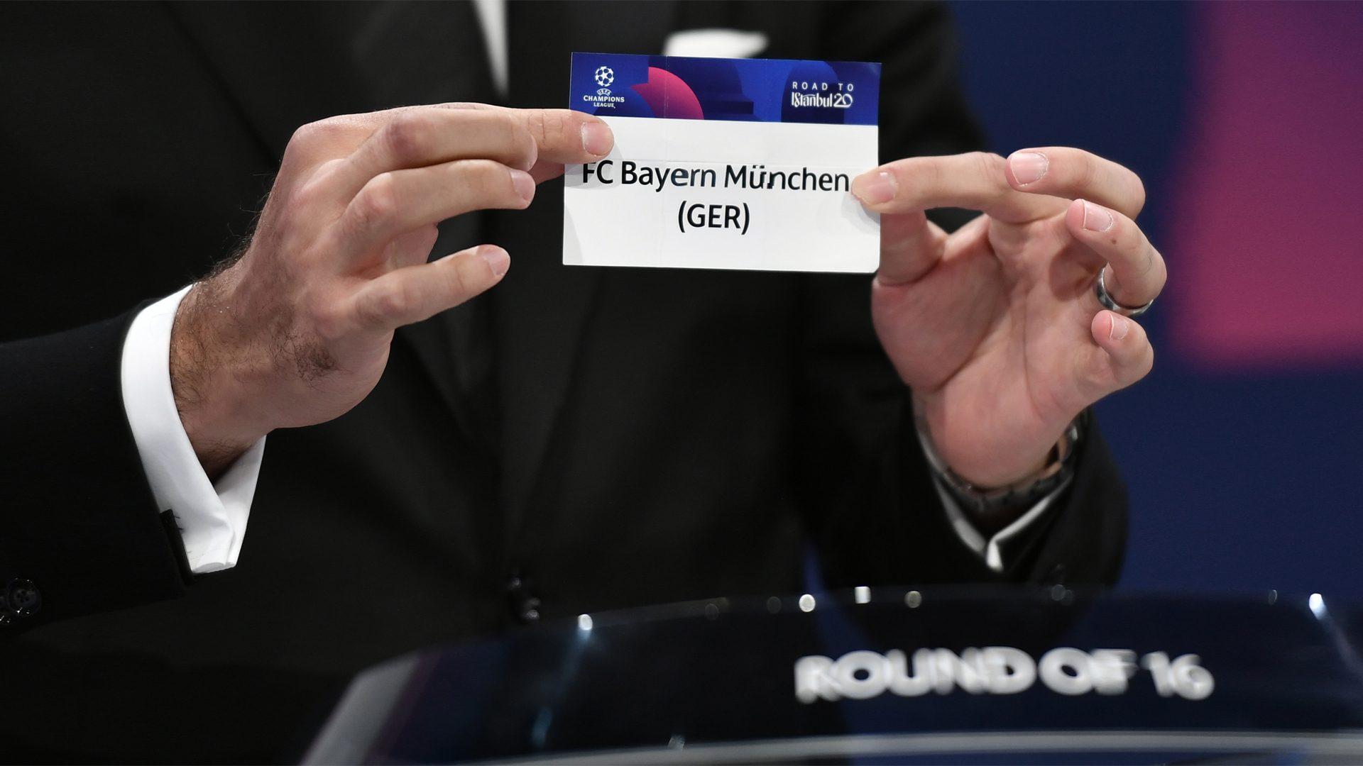 Bundesliga Dortmund Draw Psg Bayern And Leipzig Get Chelsea And Tottenham In Uefa Champions League Last 16