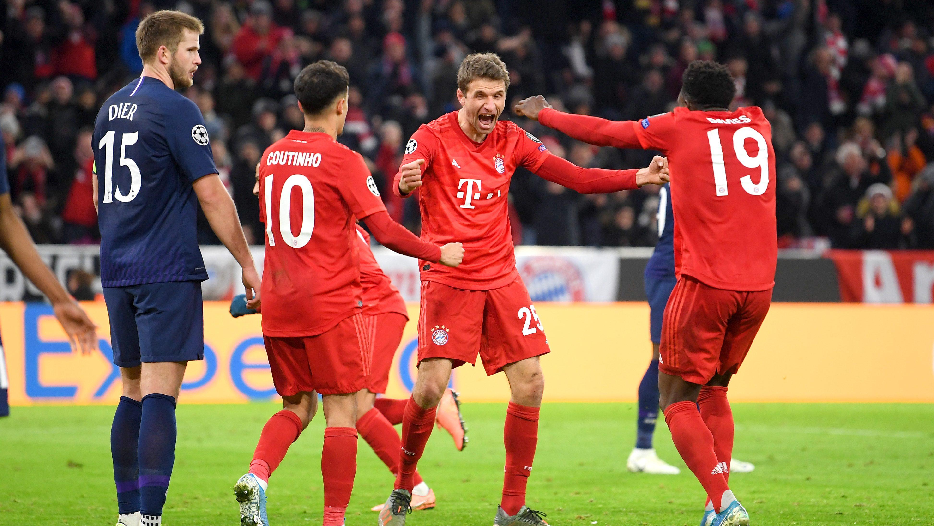 Bundesliga Bayern Munich Beat Tottenham Hotspur To Enter Uefa Champions League History