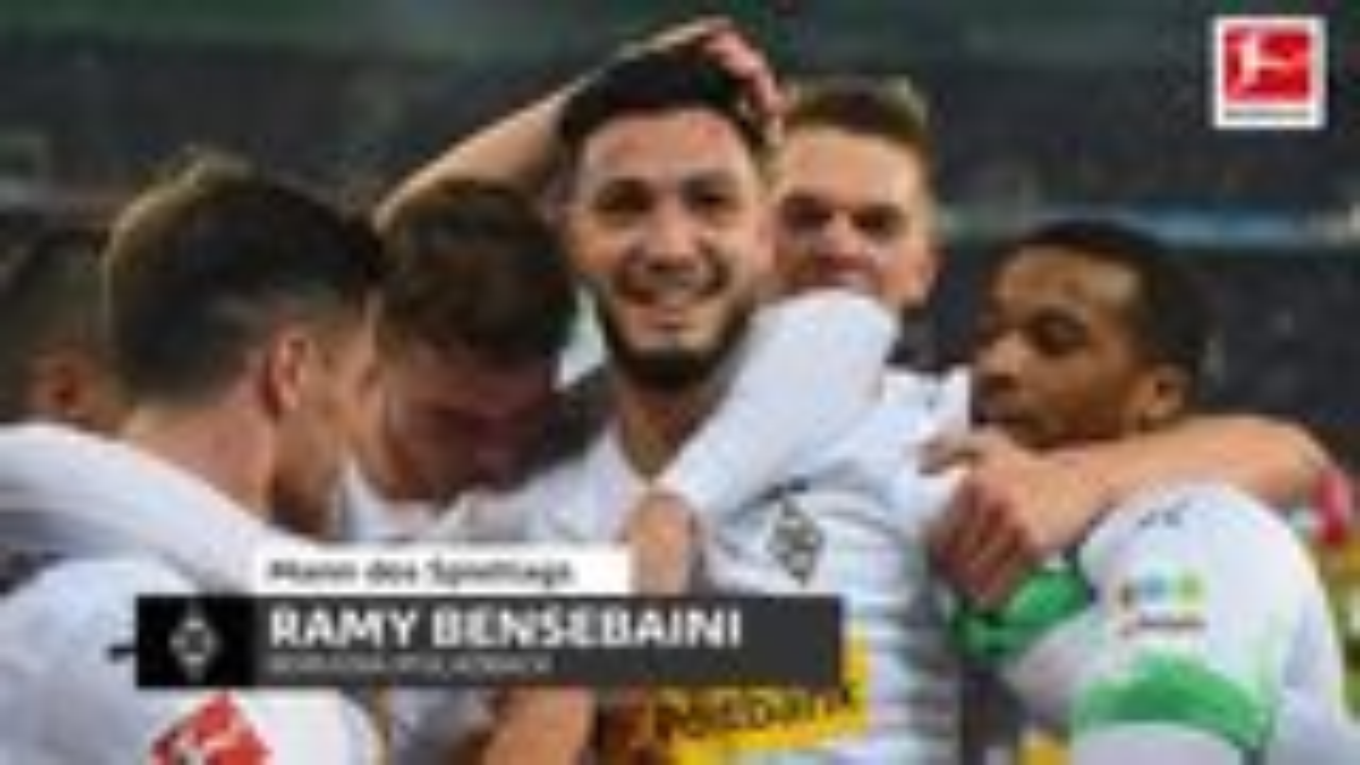 Ramy Bensebaini ist der Mann des 14. Spieltags