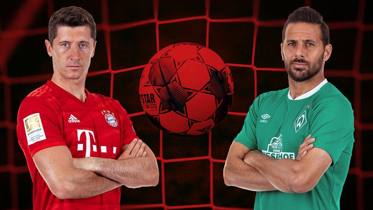 Duell der Rekord-Torjäger: Lewandowski gegen Pizarro