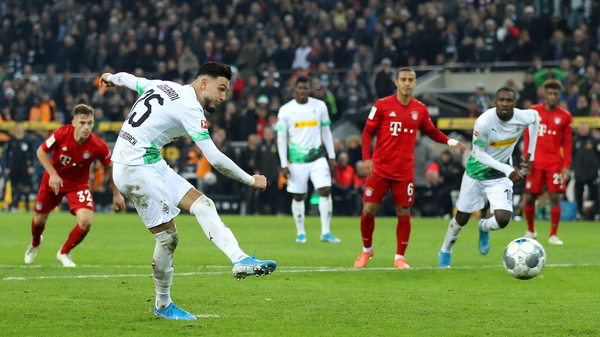 2:1-Sieg: Bensebaini schießt Fohlen gegen FCB ins Glück