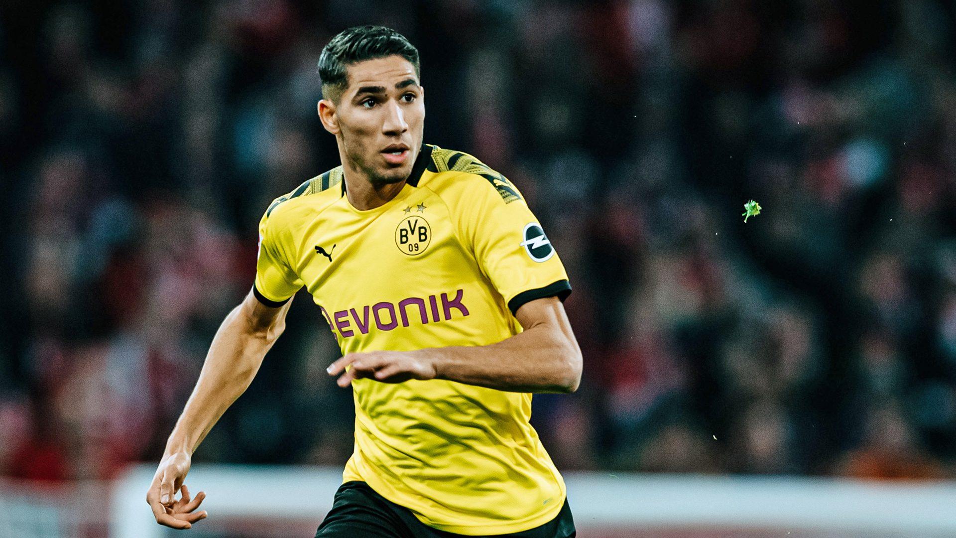 Bundesliga | Borussia Dortmund's Achraf Hakimi sets new Bundesliga ...