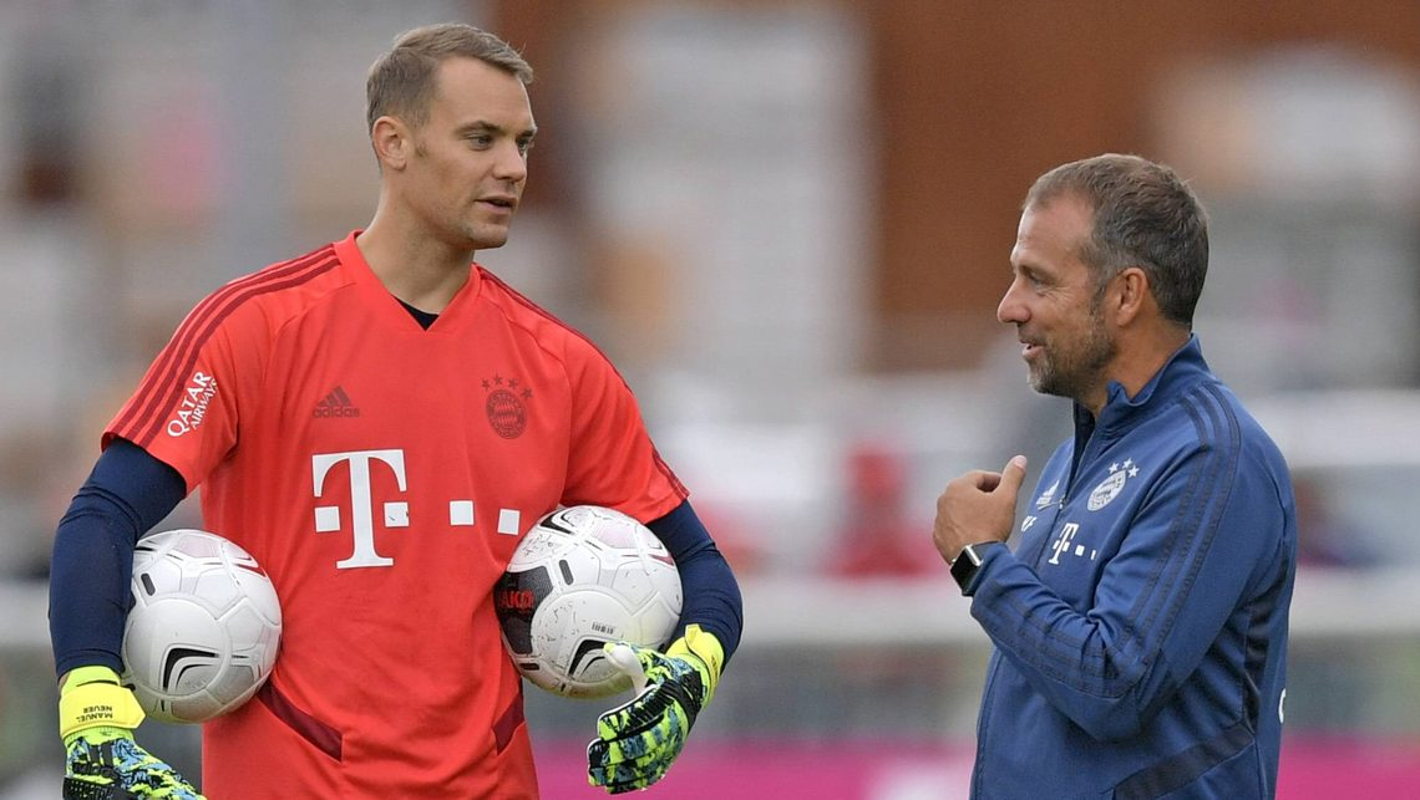 "Bundesliga | Bayern Munich goalkeeper Manuel Neuer: ""Hansi Flick's ..."