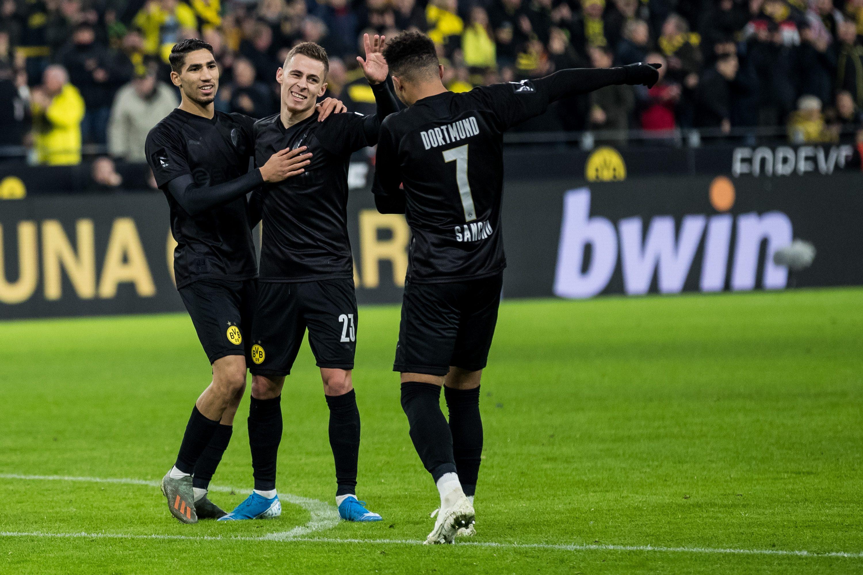 Bundesliga | Borussia Dortmund's all-black birthday suit sells out ...