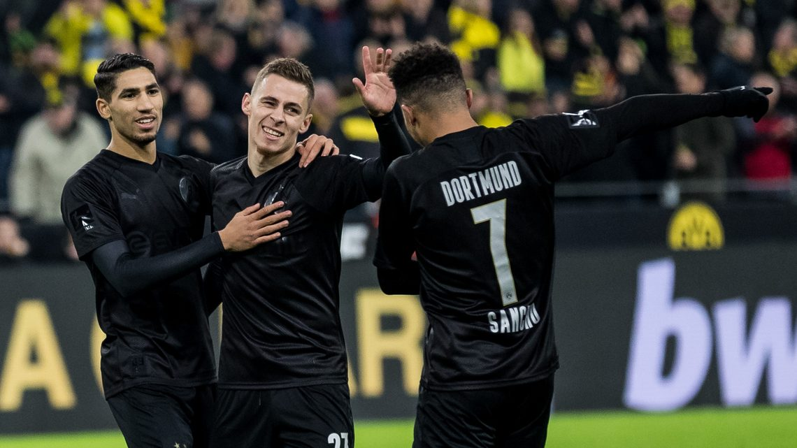Bundesliga Borussia Dortmund S All Black Birthday Suit Sells Out In Under Three Hours