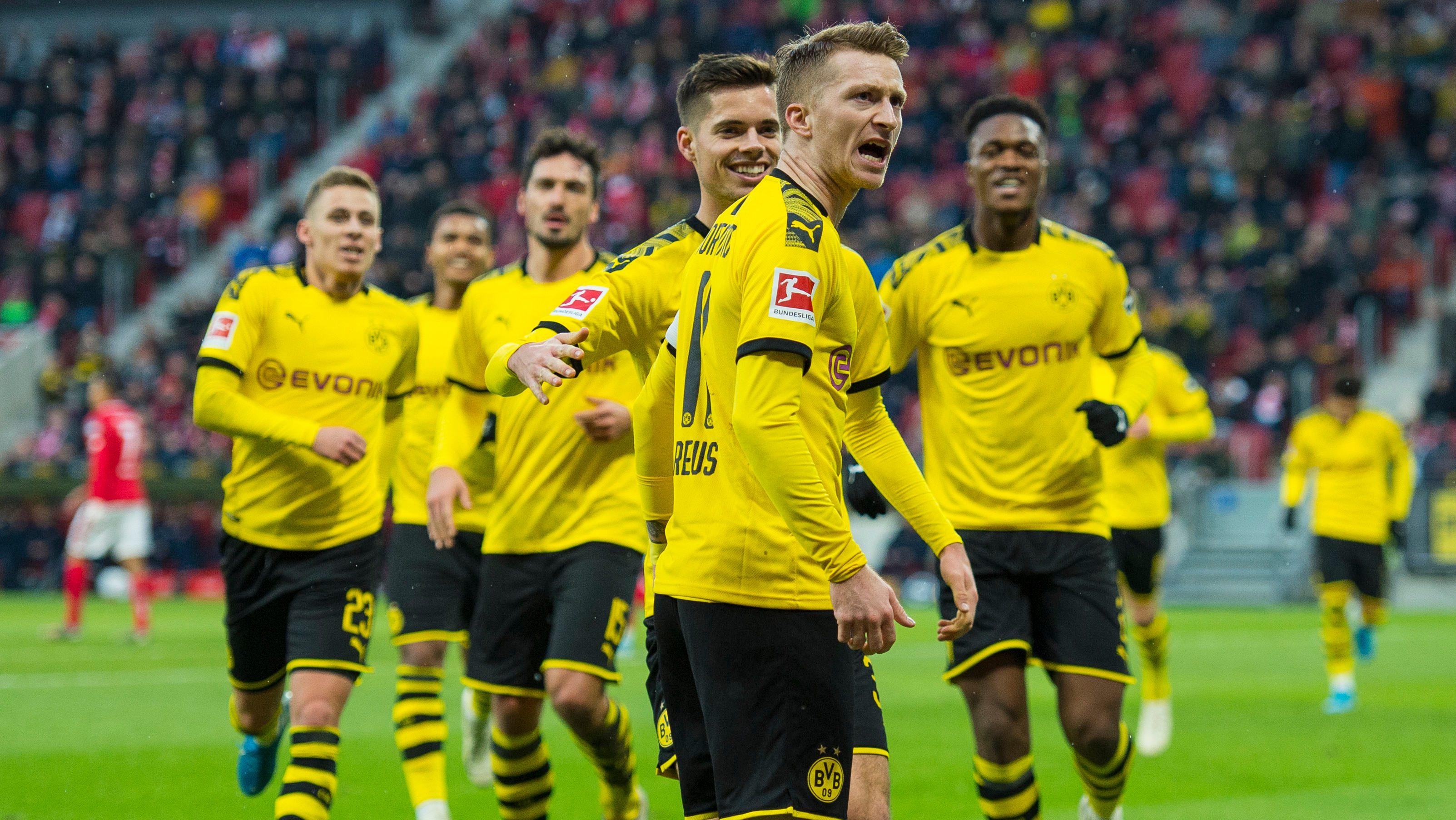 Bundesliga 1 Fsv Mainz 05 Borussia Dortmund Spielbericht