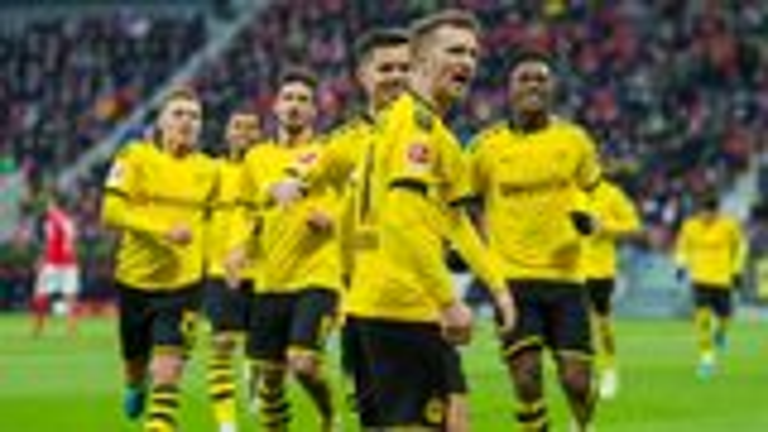 Dortmund feiert verdientes 4:0 in Mainz